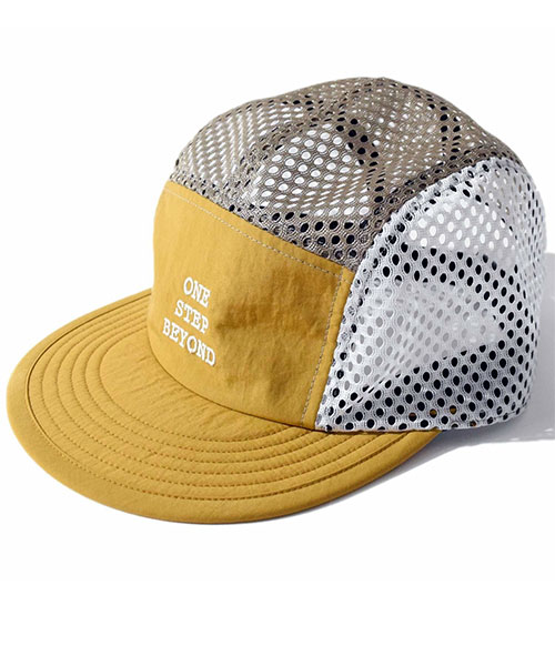 Beyond Mesh Cap Yellow