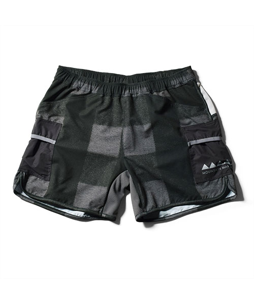 7pkt Running Pants V4 Shorty BLACK
