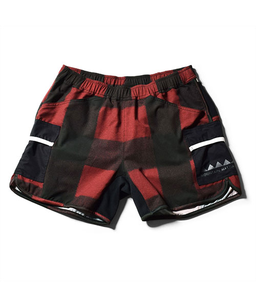 7pkt Running Pants V4 Shorty RED