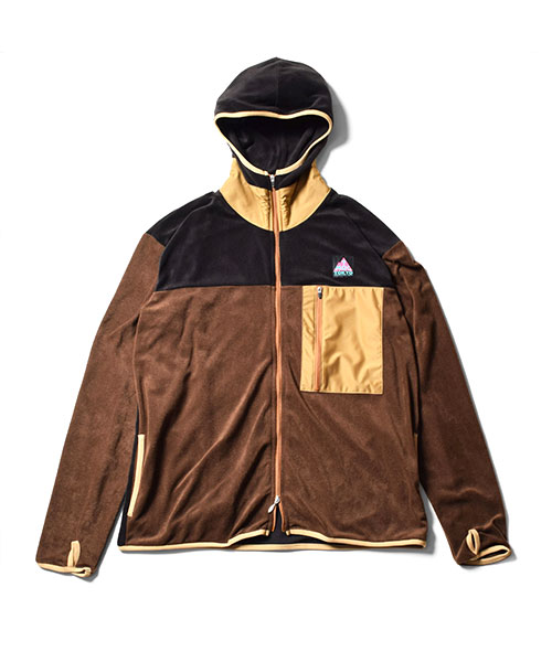 Thermolite Fleece Zip Brown